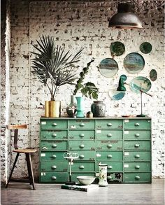 7 Secure ideas: Vintage Home Decor Store Wall Art vintage home decor inspiration sinks.Vintage Home Decor Inspiration Colour vintage home decor kitchen window.Vintage Home Decor Style At Home, Style Blog, Sweet Home, Vintage Industrial Furniture, Industrial Style, Industrial Living, Industrial Design, Industrial Drawers, Industrial Closet