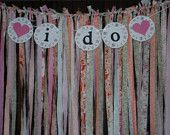 fabric and banner