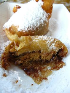 Deep-Fried REESE'S Peanut Butter Cups ~ the ultimate party dessert!