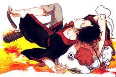 grafika anime, boy, and hoozuki no reitetsu Fan Anime, Anime Guys, Me Me Me Anime, Manga Art, Anime Art, Western Anime, Fisher, Animes To Watch, Boy Illustration