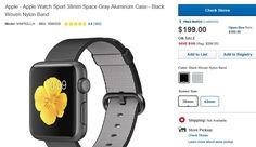 Apple Watch: Best Buy verkauft Restposten für 199 USD - https://apfeleimer.de/2016/08/apple-watch-best-buy-verkauft-restposten-fuer-199-usd - Dass nächste Woche nicht nur das neue iPhone sondern auch eine neue Watch vorgestellt werden, gilt als so gut wie sicher. Dafür spricht auch der Restposten-Verkauf von Best Buy an diesem Wochenende. Dort gab es die aktuellen Watch Modelle für unter 200 USD zu haben. Der Watch-Sale ist mi...