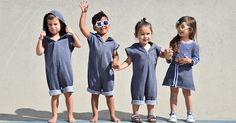 Cutting edge clothing for kids by Nothing But Amor #Cotton, #KidsClothing, #NothingButAmor, #Unisex