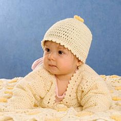 Virkattu vauvan myssy