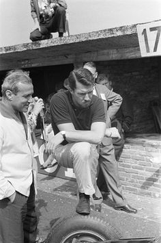 Jo Bonnier, BRM P48, Dutch Grand Prix, Zandvoort, 1960 (DNF).
