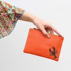 47e546426ce0 Personalised Luxury Metallic Leather Clutch Bag