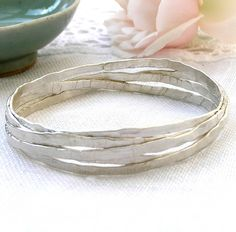 Are you interested in our silver bangle? With our handmade silver jewellery you need look no further.
