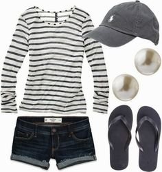 Very cute comfy summer outfit