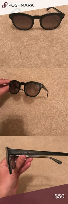 Marc by Marc Jacobs Sunglasses Never worn! Round sunglasses! Marc by Marc Jacobs Accessories Sunglasses