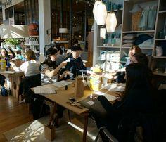 bedsidesign modern calligraphy workshop in long island