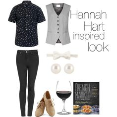 Hannah Hart inspired look by amazingally on Polyvore featuring polyvore fashion style Reiss Topshop Henri Bendel A.P.C. Alexander McQueen
