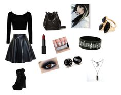 """Sophisticated in black"" by meglesswimmer on Polyvore"