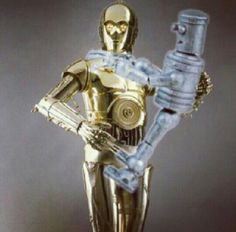 Robot Chicken-Star Wars: I am C-3PO, human-cyborg relations. And this is my counterpart.....