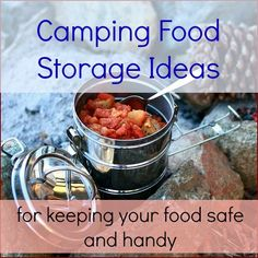 camping food storage ideas