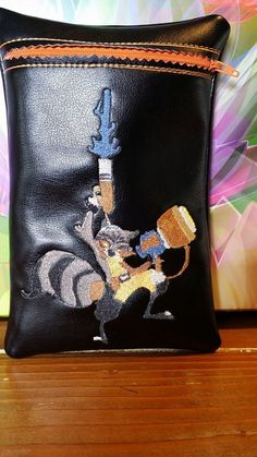 Rocket Racoon Kindle Fire HD case by RedNeckRagsCreations on Etsy, $20.00
