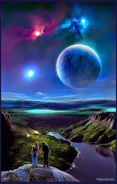 """JESUS CRISTO A LUZ DO MUNDO:     UMA NOVA TERRA!""""Um novo céu e uma nova Terra""""...."""