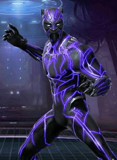 Black panther Black Panther Real Name, Black Panther Tattoo, Black Panther Art, Black Panther Marvel, Marvel Heroes, Marvel Avengers, Shuri Black Panther, Panther Pictures, Marvel Paintings