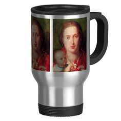 Albrecht Durer - Mary with the carnation Coffee Mugs