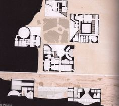 1:500/1:200 - ARCHITECTURAL SCALE ********************** [Architecture in extremes a spa in Wadi Rum - Jordan by Andre Passos - GSD PLATFORM401