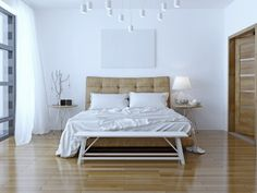 Getting a headboard can really add to your bedroom.
