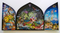 Large Triptych Box by Gavin Lavelle, via Flickr