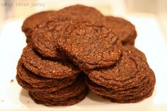 Grammy's Dark Chocolate Cookies