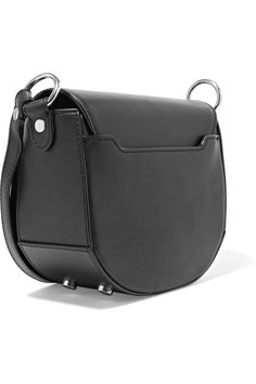 Shop on-sale Alexander Wang Mini Lia chain-trimmed leather shoulder bag. Browse other discount designer Shoulder Bags & more on The Most Fashionable Fashion Outlet, THE OUTNET.COM