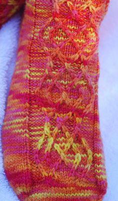 Slippery socks - Winter 2007 - Knitty I just cast these on Saturday!  Fun!