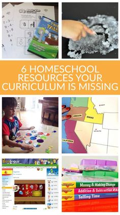 6 homeschool resources your curriculum is missing