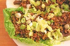 Asian Lettuce Wraps for Four