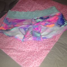 PINK Marbel Pastel Panty NWT. Size Large I DONT TRADE PINK Victoria's Secret Intimates & Sleepwear Panties