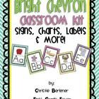 This mega-kit is loaded with over 100 pages of   signs, charts, labels etc... that will help you   to organize & decorate your classroom. Get   rea...