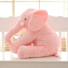 Gray Soft Plush Sleep Baby Pillow