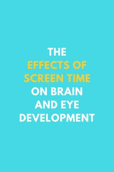 The Effects Of Screen Time On Brain And Eye Development Bullying Activities, Bullying Lessons, School Age Activities, Bullying Quotes, Time Activities, Family Activities, Parenting Articles, Parenting Books, Gentle Parenting