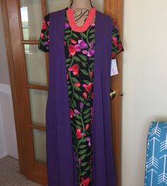 Outfit of the day! #lularoe #summerdress #purple #lularoecarly become a VIP at http://ift.tt/1sE2WFy
