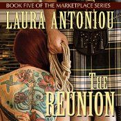 "In previous books in the Marketplace series, listeners have gone behind the scenes at a slave auction, an owner's home, a trainer's house, and even the ephemeral world of the annual trainers' Academy. In The Reunion, we visit a vacation resort for a Marketplace ""family"" gathering, where slaves, former slaves, trainers, and their spouses, significant others and family members can relax, let their hair down, and connect with each other."