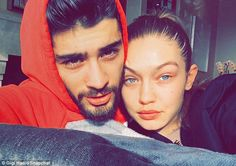 Couple goals: Just days before her latest piece of work was released, Gigi and her boyfriend Zayn Malik reminded the world that they are one of Hollywood's hottest pairings