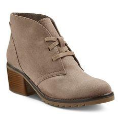 Women's Agatha Booties - Taupe - Merona™ : Target