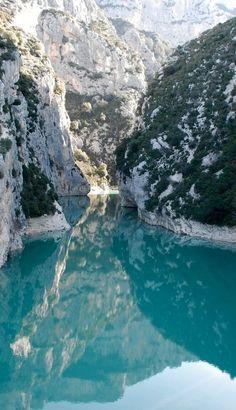 #Verdon Gorge, #France
