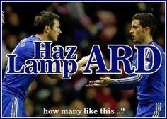 Lampard & Hazard... ♥