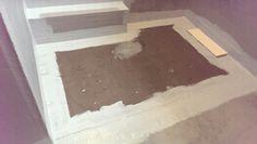 Fald på gulv i brusehjørne