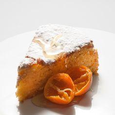 Receita de bolo de amêndoa e tangerina