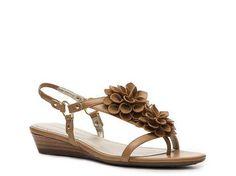 Adrienne Vittadini Vivian Wedge Sandal  $59.95