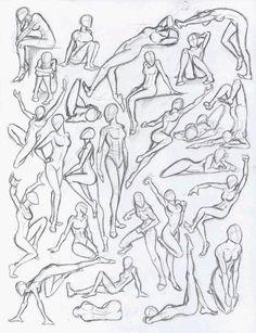 """Résultat de recherche d'images pour """"body positions sketches"""""""
