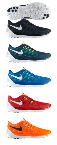 Nike Free 5.0 - I have a pair of these and need more, not only look great but sooooo comfortable!
