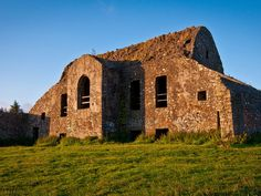 The abandoned Hell Fire Club (or Hellfire Club), atop Dublin's Monpelier Hill, was once home to sinister men who supposedly conferred with the Devil.