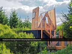 George Clarke's very own dream treehouse project: an accessible design delivering a whole new perspective on the great outdoors!