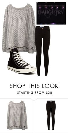 """Over You"" by music-movies-books-photographyxx ❤ liked on Polyvore featuring Converse"
