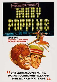 On August 1964 the musical film Mary Poppins premièred. The film based on the Mary Poppins books and produced by Walt Disney, was dir. Mary Poppins 1964, Mary Poppins Movie, Mary Poppins Children, Julie Andrews, Quentin Tarantino, Tarantino Films, Disney Movie Posters, Classic Movie Posters, Disney Films