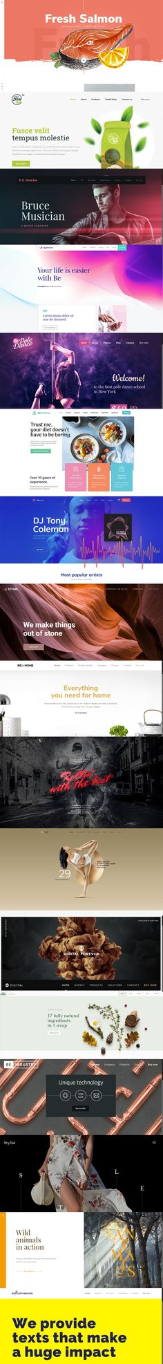 These #WordPress #Theme Followed the Latest #Design Trends – With Stunning Results