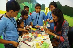 Check out the #exclusive pics of the exciting #Lulu Summer Camp 2015! #Fun games, art and craft sessions, personality development classes and much more were organized to make the vacation period memorable for the #kids.